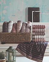 Махровые полотенца банные 70×140. ТМ Saheser. Турция.