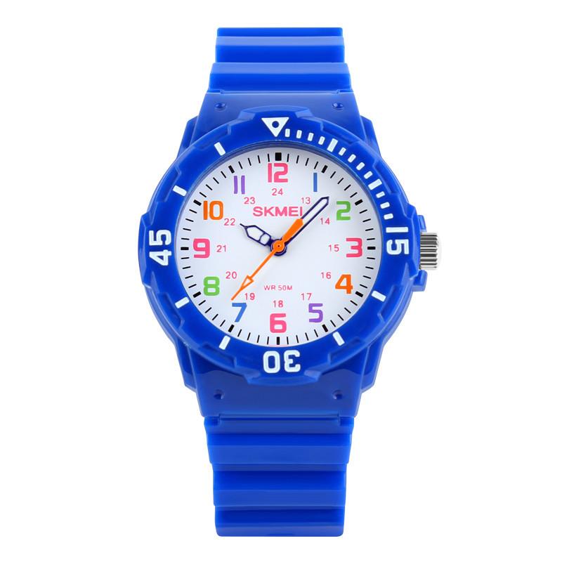 Skmei 1043 синие детские часы