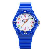 Skmei 1043 синие детские часы, фото 1