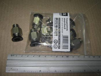 02.210.7032.100 | З'єднувач аварійний метал. (зовн. різьба) M12x1.25 d-10 трубки ПВХ (в-во ДК)