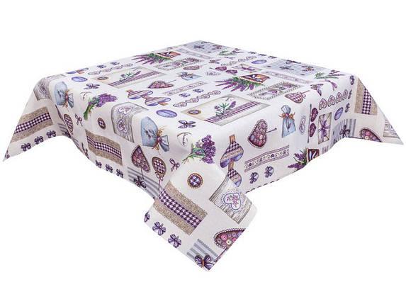Скатерть тканевая гобеленовая пасхальная квадратная 97 х 100 см, фото 2