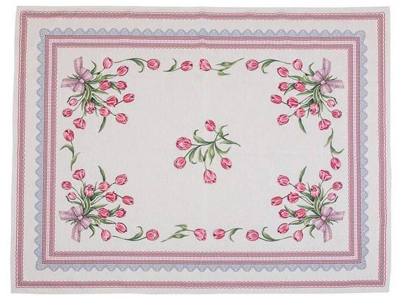 Скатерть тканевая гобеленовая пасхальная 137 х 180 см, фото 2