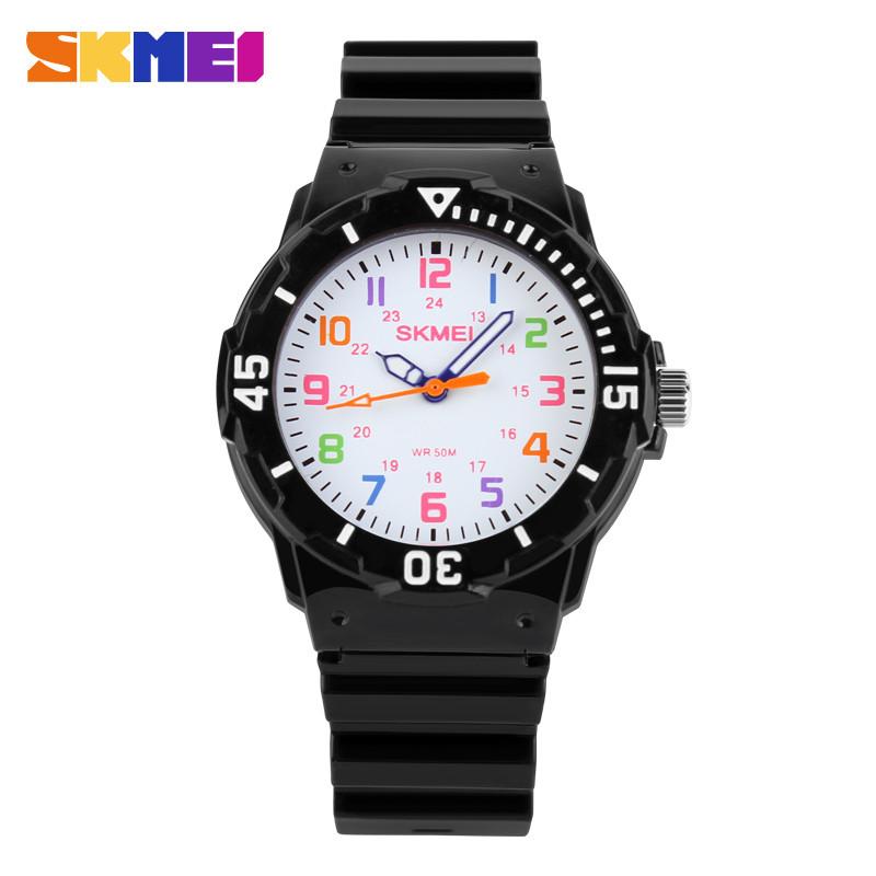 Skmei 1043 черные детские часы