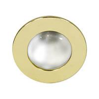 Встраиваемый точечный светильник Feron 2746 (матовое золото) R39