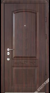 Двери Рубин темный орех Стандарт «СТРАЖ» (Украина)