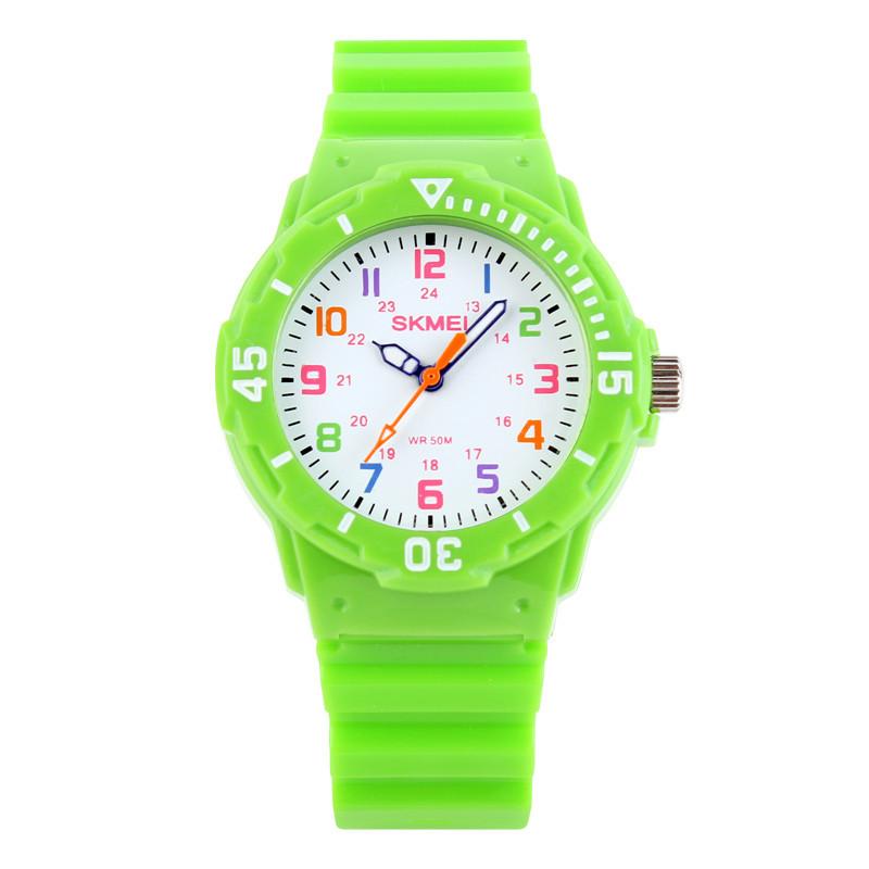 Skmei 1043 зеленые детские часы