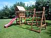 Детская площадка Большая игра для улицы и дачи (игровой комплекс с горкой)