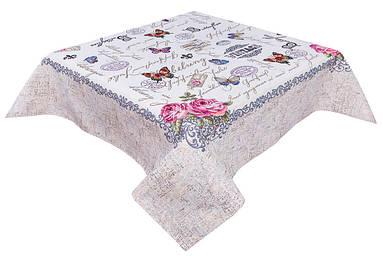 Скатерть тканевая гобеленовая пасхальная Весеннее письмо 137 х 180 см