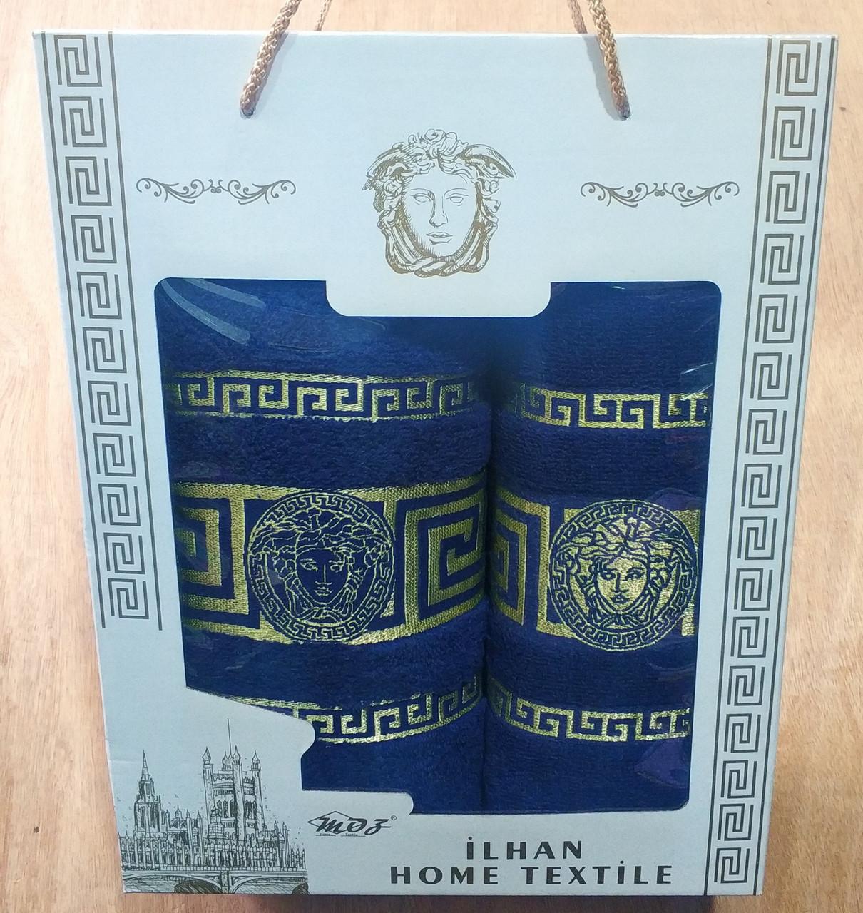 Подарочный набор махровых полотенец , Турция