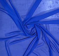 Шифон однотонный синий, фото 1