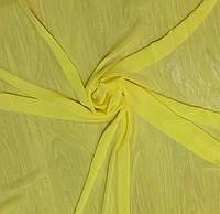 Ткань Шифон однотонный жёлтый