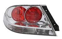 Фонарь задний левый Mitsubishi Lancer IX (седан) 2000 - 2010 красно-белый, прозрачный, с лампами, (Depo, 214-1983L-A-C) OE MN161197 - шт.
