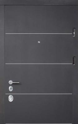Двери Соло блэк/софт милк Престиж «СТРАЖ» (Украина)