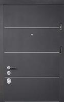 Двери Соло блэк/софт милк Престиж «СТРАЖ» (Украина), фото 1