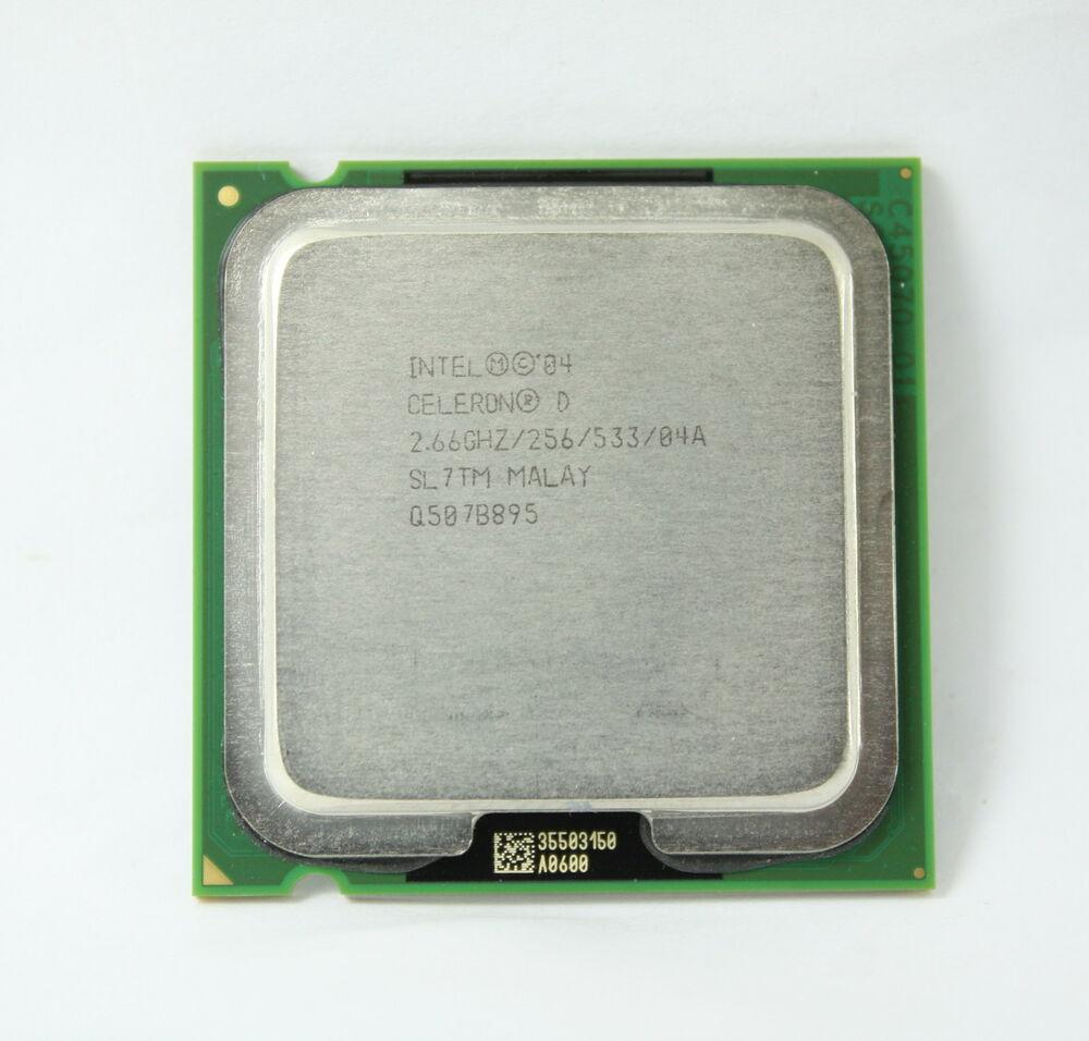Процессор Intel Celeron D 330 2.66GHz/256/533 (SL7TM) s775, tray