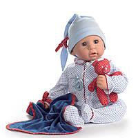 Пупс Куки в голубом с игрушкой, 48 см 1161034 ТМ: Gotz
