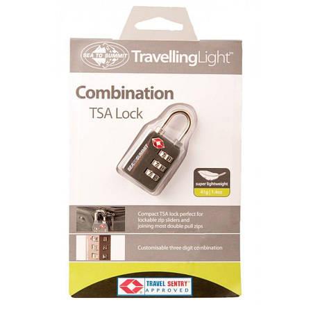 Замок для багажа Sea To Summit TSA Travel Combination Lock, фото 2