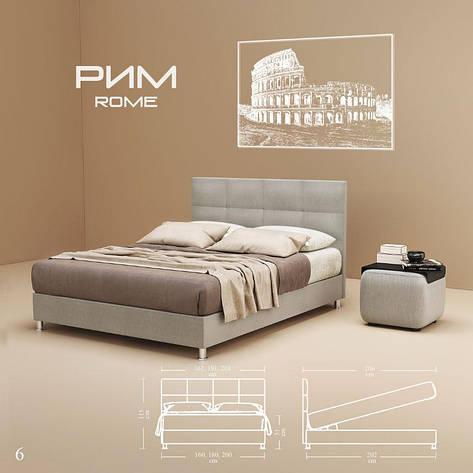 Кровать РИМ Стандарт  GreenSofa, фото 2