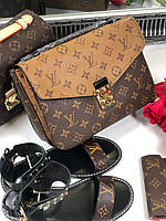 Женская сумочка LOUIS VUITTON Pochette Metis (реплика), фото 1