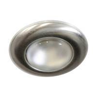"""Встраиваемый точечный светильник """"сфера"""" Feron 2767 (матовый хром) R39"""