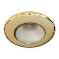 """Встраиваемый точечный светильник """"сфера"""" Feron 2767 R50/E14 (золото)"""