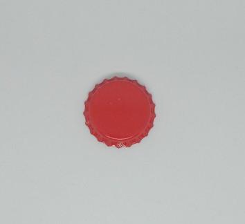 """Кроненпробка для пивной бутылки """"Красная"""" 26 мм - 100 шт."""