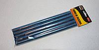 Силиконовый клей с блёстками Синий 14655 упаковка