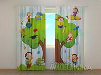 """Фотошторы """"Школа"""" 250 х 260 см фото штори с рисунком шторы в детскую"""