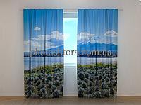 """Фотошторы """"Далекая Фудзияма"""" 250 х 260 см природа фото штори шторы с рисунком"""