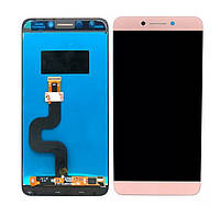 LCD екран + Touchscreen (Модуль) для Leeco S3 X526 Розове золото