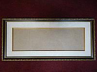 Рамка пластиковая для вышивки,фото,картины.Рамка с паспарту и слип-вставкой