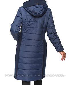 Стильная зимняя женская куртка пальто