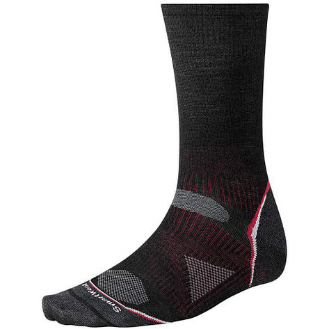 Термоноски Smartwool PhD Outdoor Ultra Light Crew Socks Black, M / 38-41, фото 2