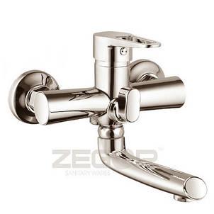 Змішувач ZEGOR ванна короткий PUD3-A045H, фото 2