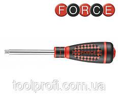 """1/4"""" Рукоятка для головок трещоточная с резиновой ручкой L=193 мм"""
