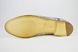 Туфли кожа змея Aquamarin 970 37 Размер, фото 3