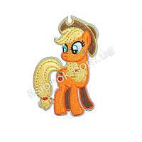 Термо-нашивка на одежду My little Pony ЭпплДжек