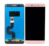 LCD екран + Touchscreen (Модуль) для Leeco S3 X529 Розове золото
