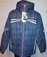 Чоловіча лижна Куртка сіра клітинка XXL «Walk Hard» (Угорщина)