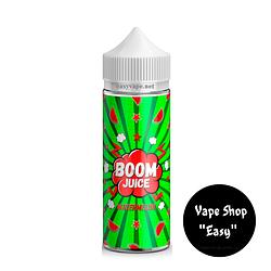 BOOM Juice Арбуз 120 мл жидкость для электронных сигарет\вейпа. 3 мг