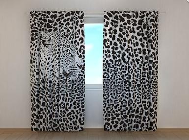 "Фотошторы ""Ягуар"" 250 х 260 см природа фото штори шторы с рисунком"