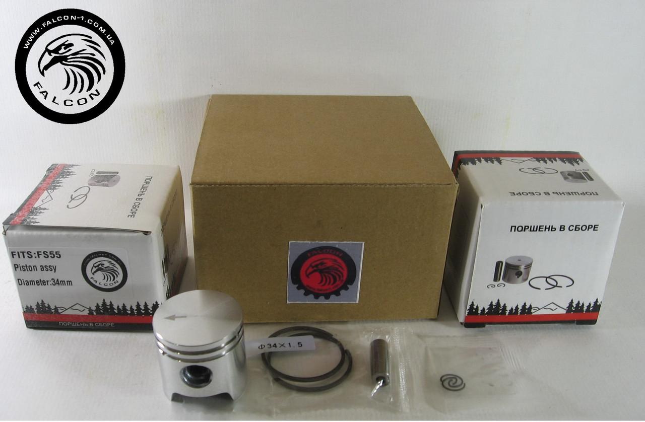 Поршень Stihl FS 55, D=34 мм (41400302004) для бензокос Штиль
