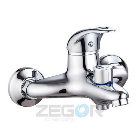Смеситель ZEGOR ванная короткий  NHK3-A048, фото 2