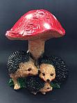 Садовая фигура мухомор и ёжики, фото 3