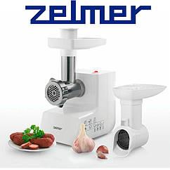 Мясорубка Zelmer ZMM3854W максимальная мощность 1300 Вт