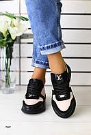 Женские модные кроссовки в стиле Louis Vuitton