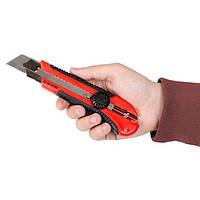 Нож с металлической направляющей 25 мм INTERTOOL HT-0526, фото 1