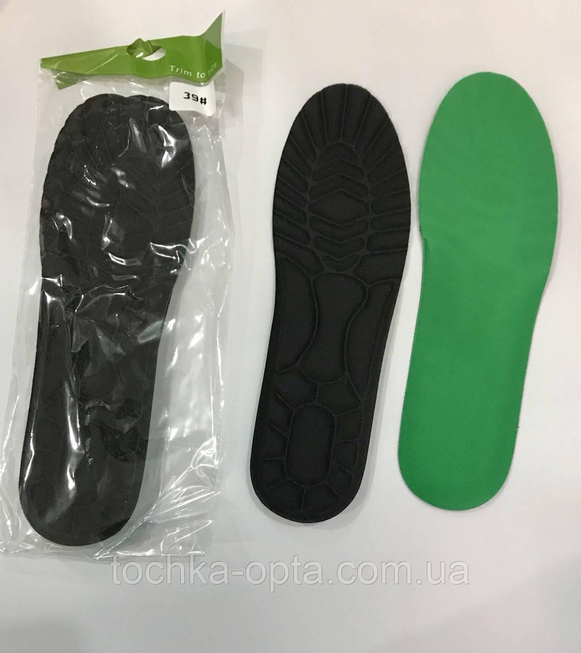 Стельки для спортивной обуви ортопедические 38 размер