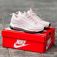 Женские кроссовки Nike Air Max 97 (Pink), женские весенние кроссовки Найк Аир Макс 97 (Реплика ААА)