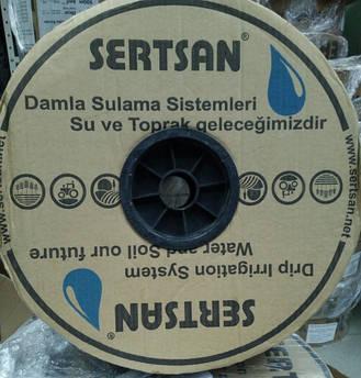 Капельная лента эмиттерная SERTSAN 6 mil 30 см, бухта 3000 метров
